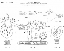 Jeremy Bailey: Famous New Media Art Patent Office