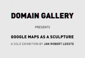 Google Maps as a Sculpture