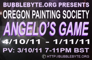 Oregon Painting Society, Angelo's Game