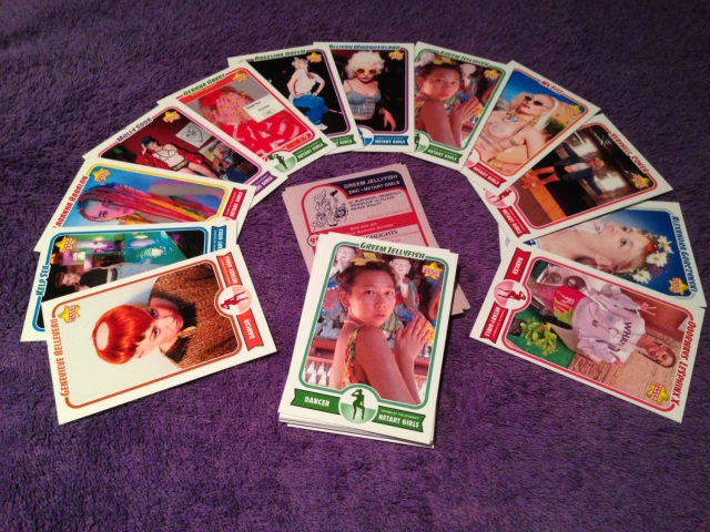 "NetArt Girls ""Women of The Internet"" Trading Cards"