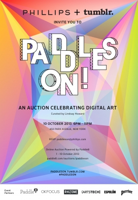 Paddles On! An Auction Celebrating Digital Art