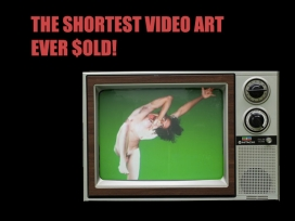 The Shortest Video Art Ever Sold